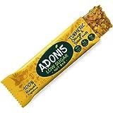 Adonis Low Sugar - Barritas de Nueces del Brasil Crujiente sabor Cúrcuma y Naranja | 100% Natural, Baja en Carbohidratos, Sin Gluten, Vegano, Paleo (5)