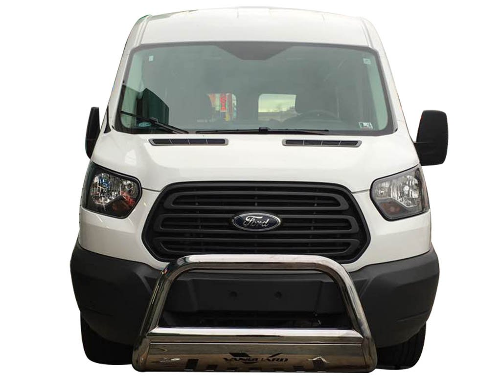 VANGUARD Off Road VGUBG-1212-1333SS Multi-fit Bumper Guard Stainless Steel Bull Bar with Skid Plate