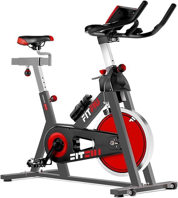 FITFIU BESP-22 - Bicicleta Indoor Spinning ergonómica con disco ...