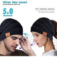 Kaufam Gorro Bluetooth, Gorro Invierno Bluetooth 5.0, Gorro
