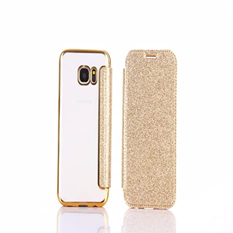 custodia porta cellulare samsung s7 edge glitter
