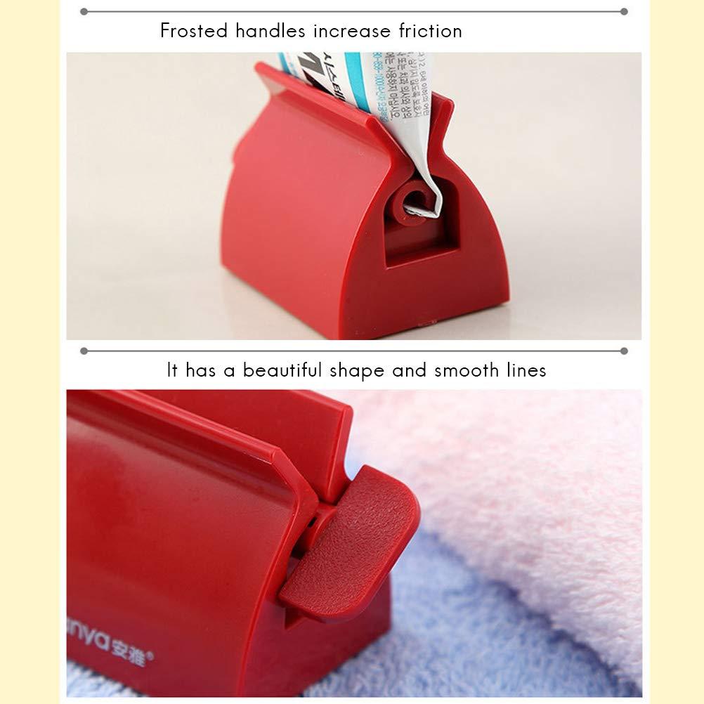 Bathroom Toothpaste Squeezer Creative Manual Cream Tube Squeezing Dispenser Tooth Paste Dispenser Bianco