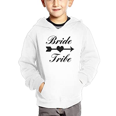 Bride Tribe Baby Girl Boy Lightweight Pullover Hoodies With Pockets