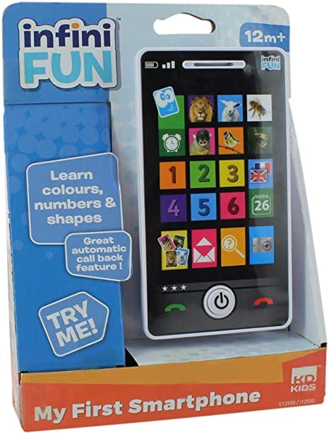 Childrens Y-téléphone à écran tactile Educational Learning 123 Kids iPhone TOY4s 5