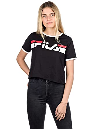 Fila Damen T-Shirt Ashley Cropped T-Shirt: Amazon.de: Bekleidung