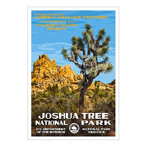 Joshua Tree National Park Poster - Original Artwork - 13