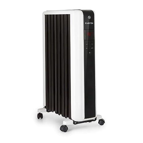Klarstein Thermaxx 2000 radiador de Aceite • Radiador eléctrico • 2000 W de Potencia • 5