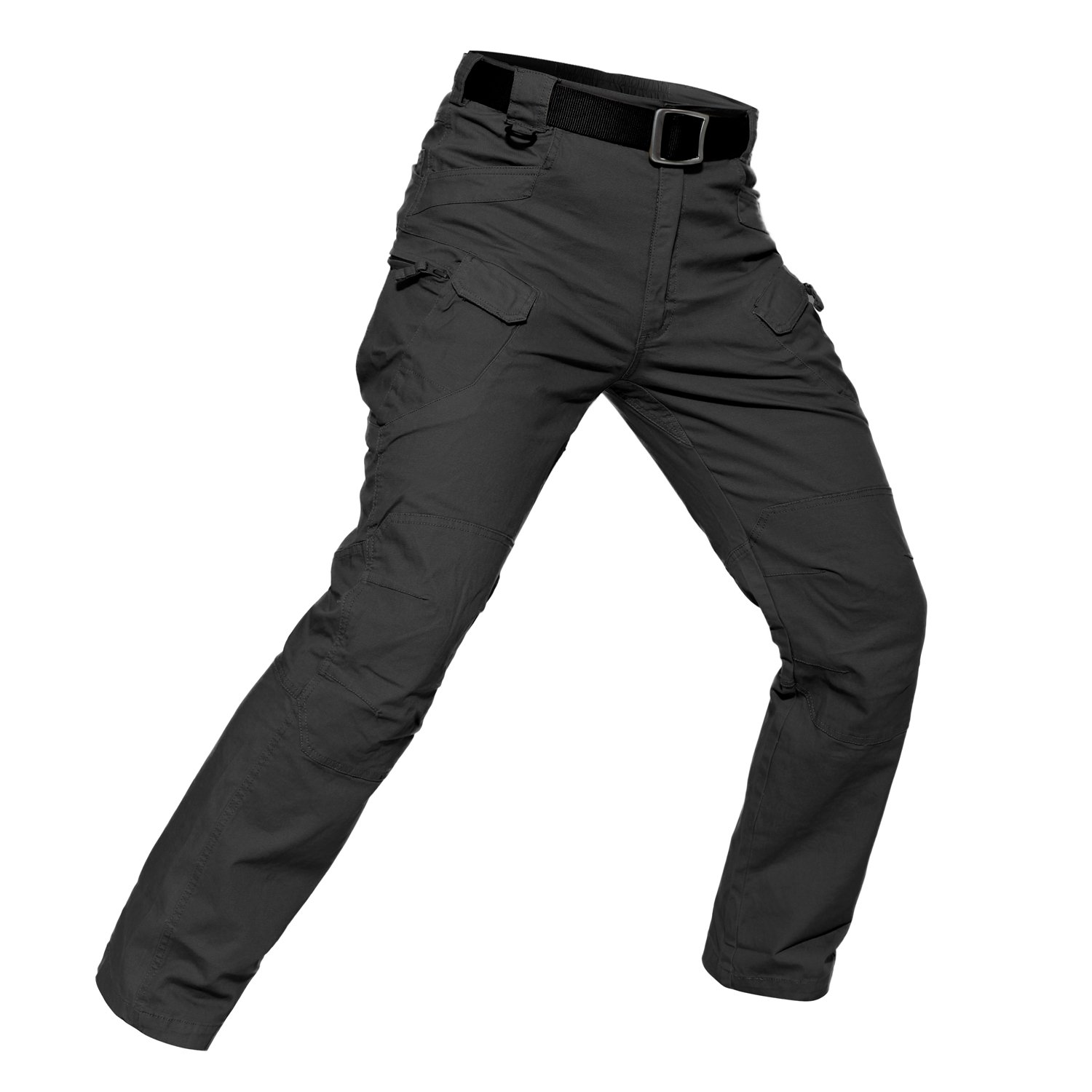 Amy-Club Tactical Pants Men Clothing Military Trousers Cargo Pants Combat Casual Army Lightweight (XXL, Black)
