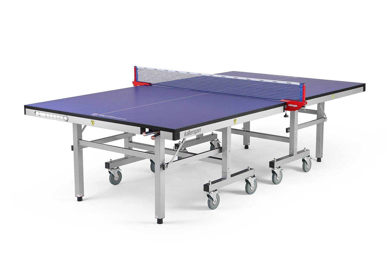 Killerspin myt10ポケットテーブルテニステーブル – Best Folding Table Tennis Table with AmazingポケットAddition B01JA1UXCY ブルー