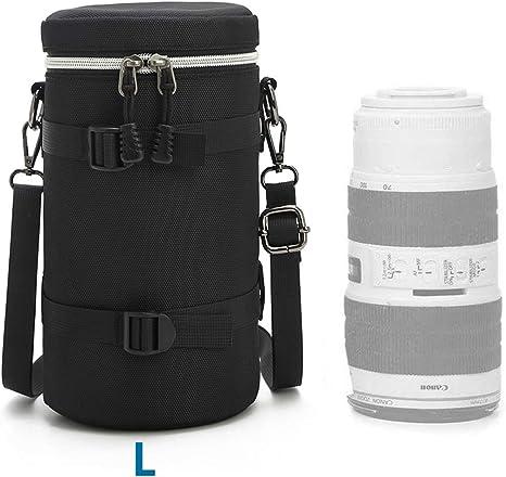 HomyWord Lens Bag Case / Lens Pouch / Lens Bag con correa para el ...