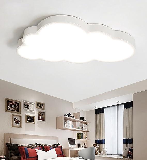Deckenleuchte LED ultradünne 5 cm Kreative Wolken Deckenlampe Kinderzimmer  Deckenleuchte Jungen Und Mädchen Schlafzimmer Lampe Einfache Cartoon ...
