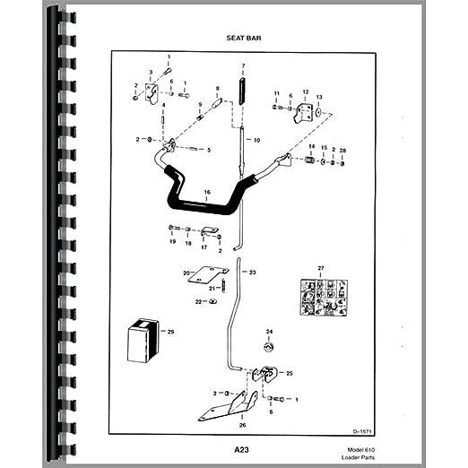 BC P 610 New Parts Manual Made To Fit Bobcat Skid Steer