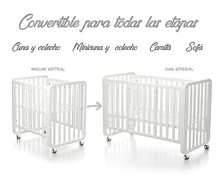 Bolin Bolon Pack Cuna-minicuna colecho OSLO completa ANGY ROSA: Amazon.es: Bebé