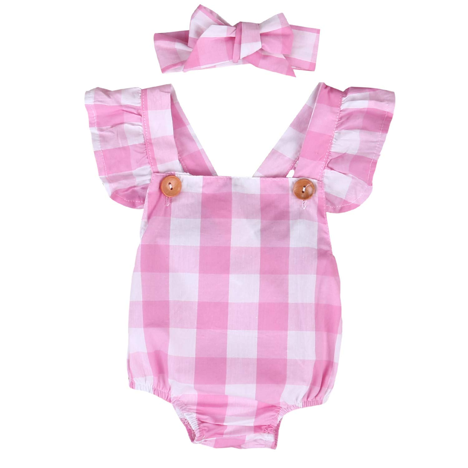 Lucyhu Cute Funny Newborn Infant Baby Girls Boys Short Sleeve Bodysuit Romper Outfits Jumpsuit Infant Clothes