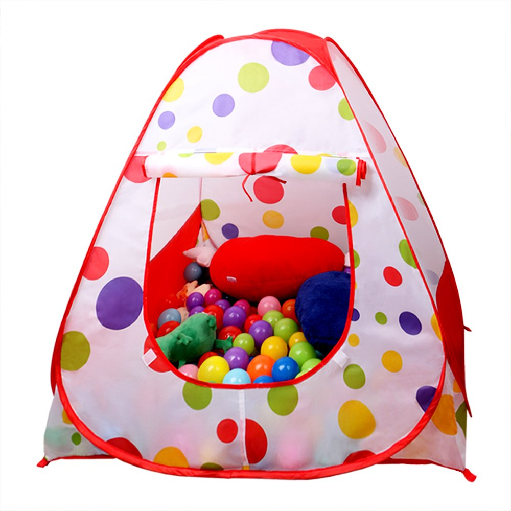 Amazon.com  EocuSun Children Kids Play Tent Tents House Pop Up Outdoor Indoor Ball Pit Baby Beach Tent Playhouse w/ Zipper Storage Case for Boys Girls ...  sc 1 st  Amazon.com & Amazon.com : EocuSun Children Kids Play Tent Tents House Pop Up ...