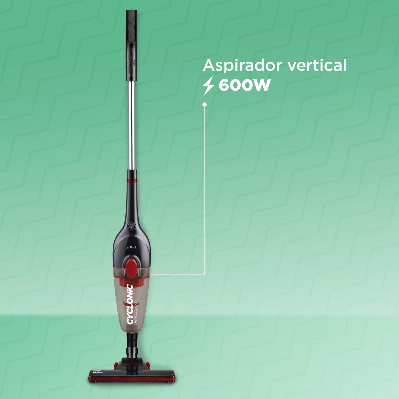 SOGO SS-16120 Aspirador Ciclónico Vertical con Potencia de 600W ...