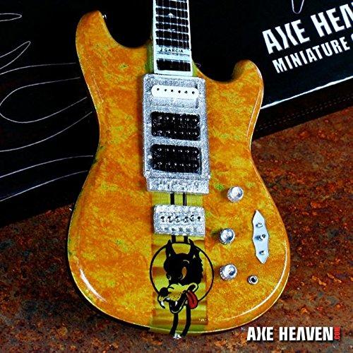 Grateful Dead Jerry Garcia Wolf Signature Miniature Guitar by FAN MERCH