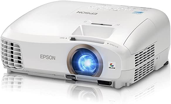 Epson Home Cinema 2045 Wireless 1080p, 2x HDMI (1 MHL), Miracast, WiDi, 3LCD, 2200 Lumens Color/White Brightness, 3D Projector (Renewed)