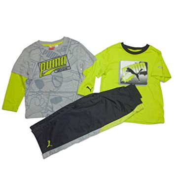 Puma de chándal para niños Deporte Active Wear Outfit manga larga ...