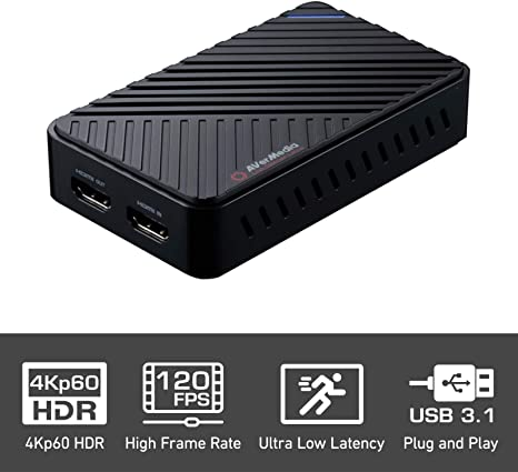 AVerMedia Live Gamer Ultra, Capturadora de vídeo y de streaming ...