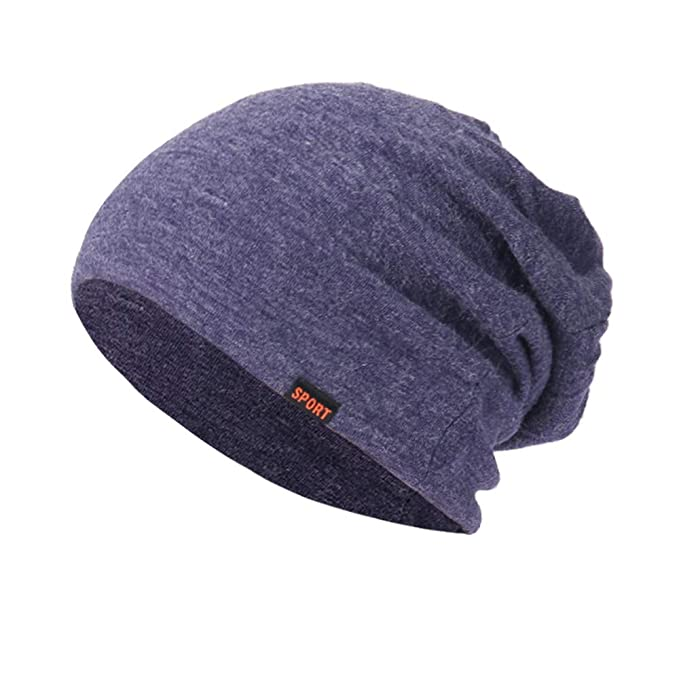 3088f5217c99d1 Makefortune Frauen Baggy warme Mütze, häkeln Winter Wolle stricken Ski  Beanie Skull Slouchy Caps Hut (One size, Blau): Amazon.de: Bekleidung