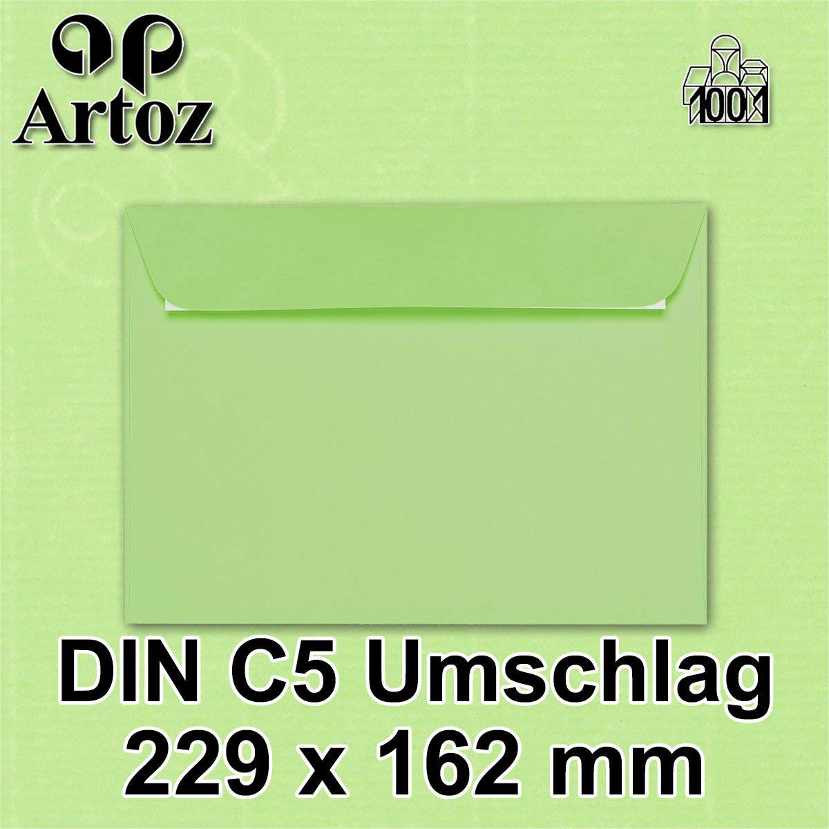 classic blue Artoz 1001 417 buste formato C5-100 g//m/² //// azione 2016 50 St/ück mit Geschenkbox
