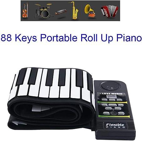 Hand Roll Piano Keyboard Rockjam Keyboard Keyboard ...