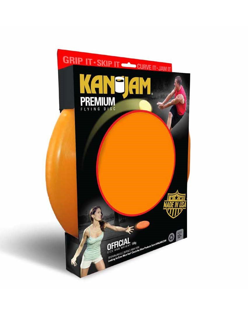Kan Jam Flying Disc, Orange by Kan Jam