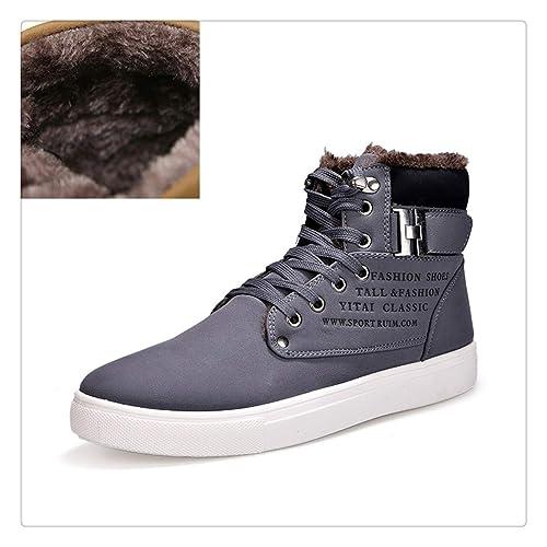 bd340ffd4f611 Quguangyan Men Boot Fashion Warm Winter Shoes Autumn Leather ...