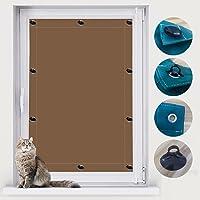 Zonwering dakraam zuignap, raamzonwering zonder boren, (32x56cm) met zuignappen, UV-bescherming en hittebestendige…