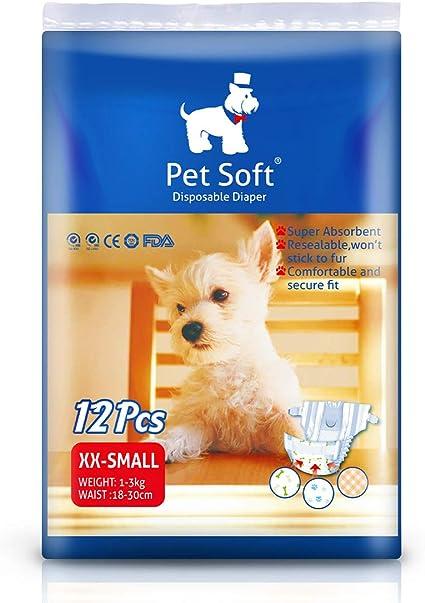 Pet Soft Disposable Female Puppy Dog Diaper