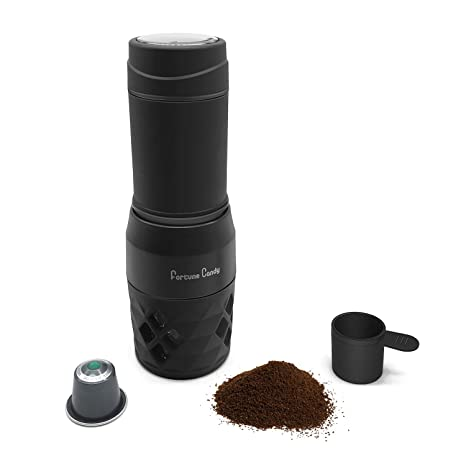 Amazon.com: Fortune Candy - Cafetera manual portátil para ...