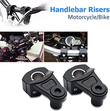 5.5 Black Bike Handlebar Pullback Risers 7//8 For Can-Am Spyder Roadster RS RT Phantom