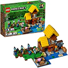 [Patrocinado] LEGO Minecraft: La granja 21144. Juego de construcción (549 piezas)