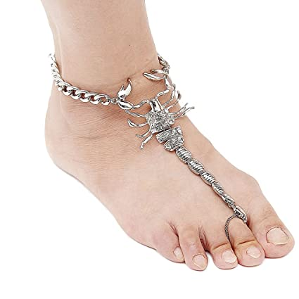 Crystal Rhinestone Ankle Bracelet Women Anklet Chain Foot Beach Jewelry Jewelry & Watches