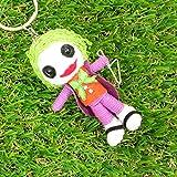 Joker Puppet Doll Keyring Keychain Comic Theme
