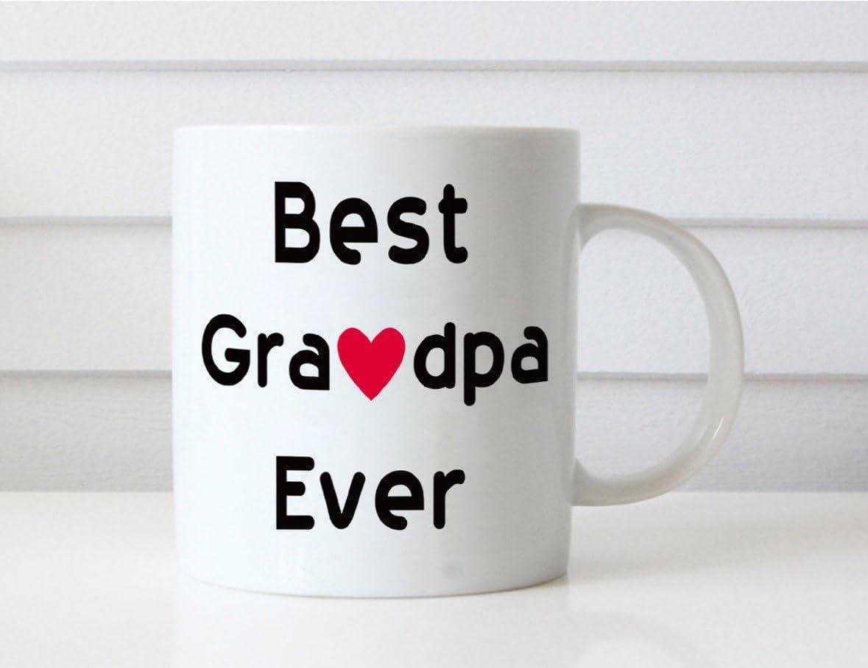 This Might be Wine 11 onzas dise/ño de Abuelo con Texto en ingl/és Great Moms//Dads Get Promoted to Grandma//Grandpa Best Birthday Gifts for Grandpa Juego de 2 Tazas de caf/é Color Blanco