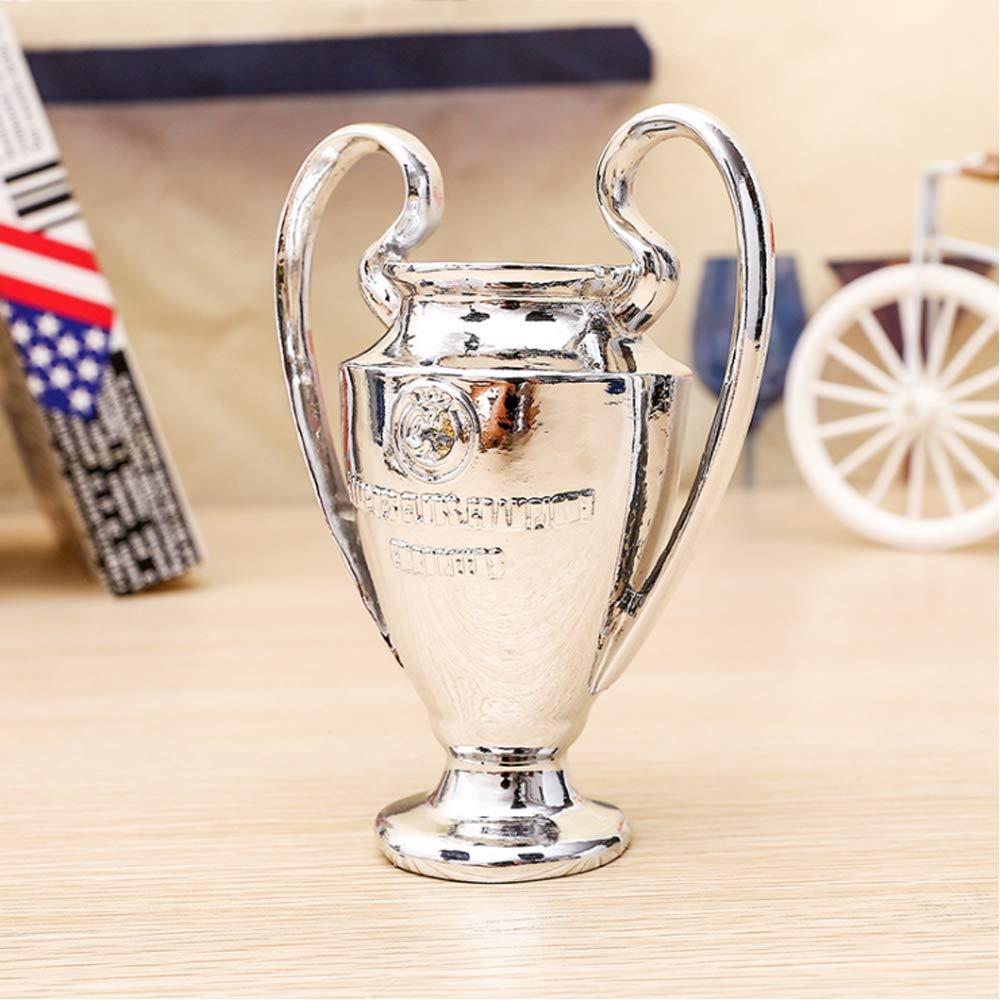 CPDZ European Football League Meisterschaft Troph/äe Wettbewerbspreis Galvanik Oberfl/ächenharz korrosionsbest/ändig Souvenir hoch 15CM