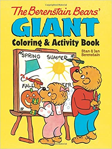 Amazon.com: The Berenstain Bears\' Giant Coloring and Activity Book ...