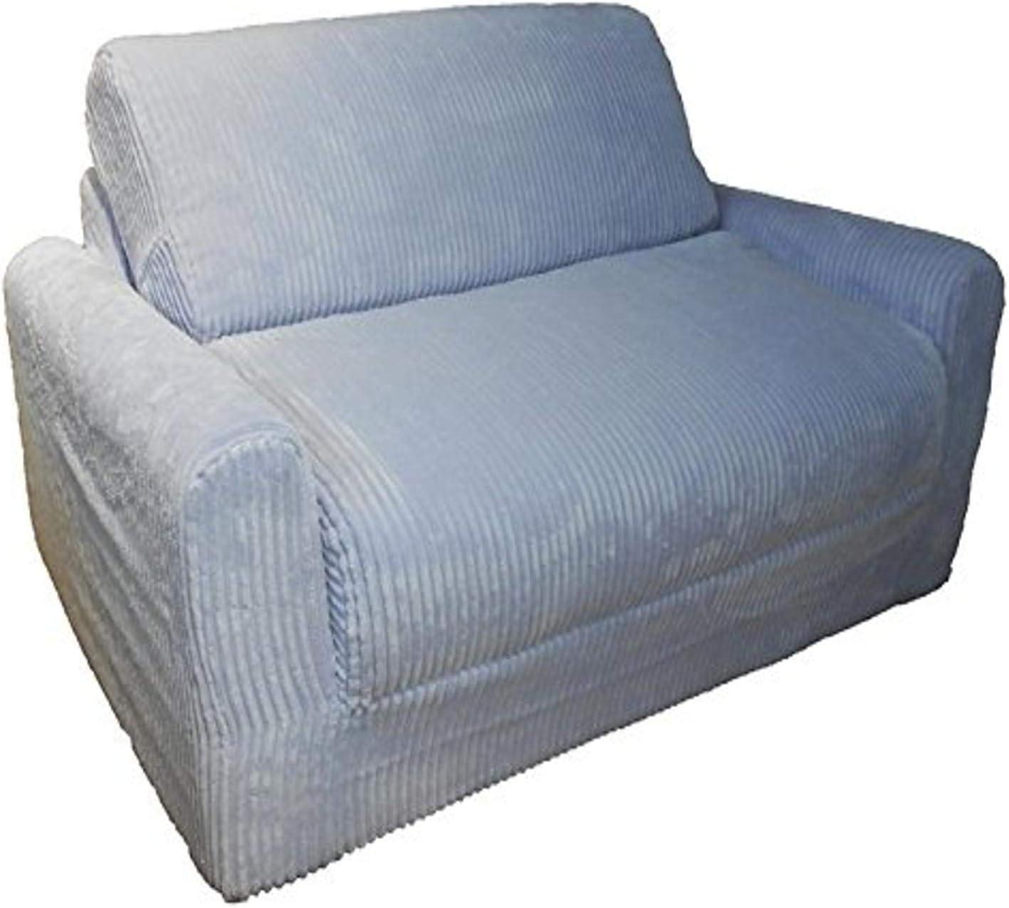Fun Furnishings Kid's Sleeper Sofa in Chenille Fabric, Lilac