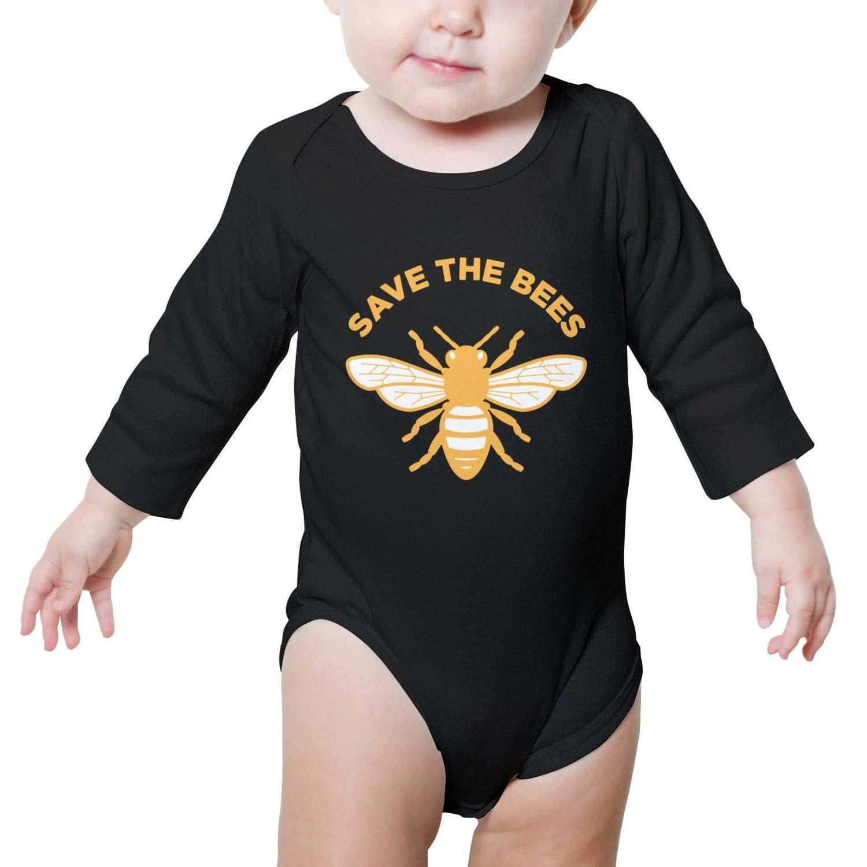 Short-Sleeve SHIRT ユニセックスベビー 24 Months Save the Bees-1 B07H2CHK44