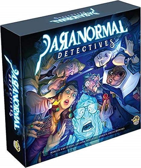 Lucky Duck Games LKYPARR01EN Paranormal Detectives, Mixed Colours: Amazon.es: Juguetes y juegos
