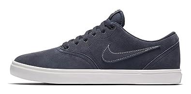 size 40 05946 78222 Nike H-skateboardschuh SB Check Solarsoft, Chaussures de Skateboard Homme,  Bleu Thunder Blue