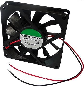 AERZETIX: Ventilador para PC Ordenador de sobremesa PC 12V ...