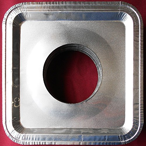 Aluminum Square Burner Disposable Liners product image
