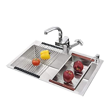 Fregaderos de cocina, fregadero de fregadero de cocina de ...