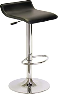 Winsome 93129 Spectrum Stool, Black