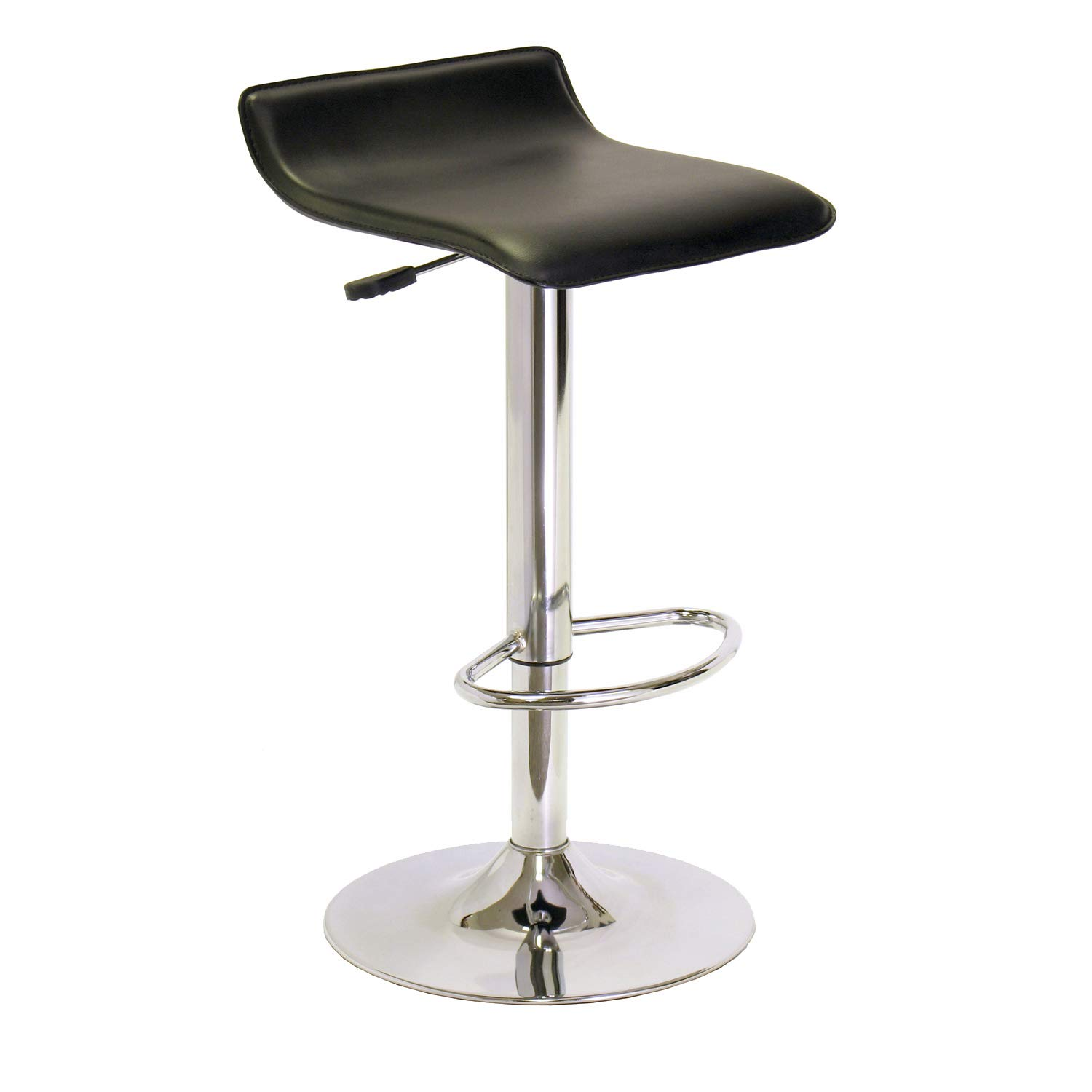 Winsome 93129 Spectrum Stool, Black by Winsome