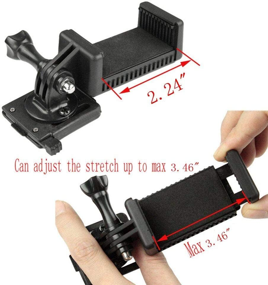 Camera Bracket Mount NVG for Tactical Helmet Fast Mich//AF M88 Gopro Hero 1 2 3 4 5 Xiaoyi Cellphone Camera Mount