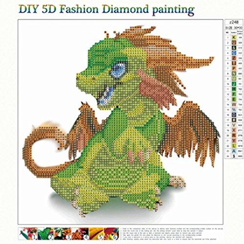DIY 5D Cute Animal Diamond Painting,Jchen(TM) Home Decor Craft 5D DIY Diamond Painting Kit Pasted DIY Diamond Painting Cross Stitch by Jchen Diamond Painting (Image #1)